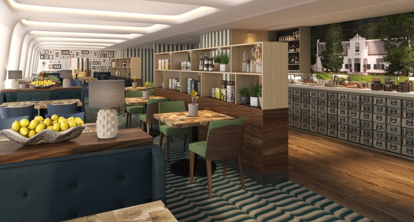 Pacific Jewel set to debut the new Pantry