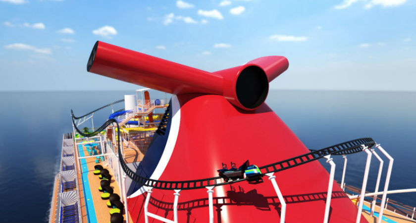 Carnival to Debut First Roller Coaster at Sea