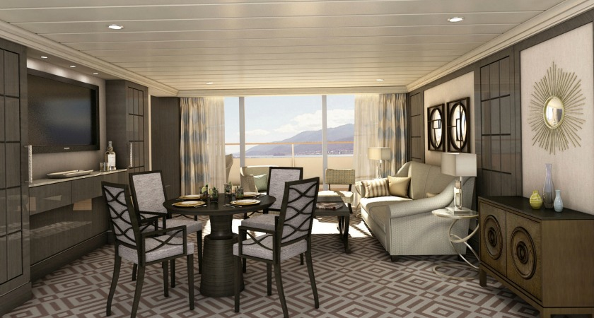 The line's two luxurious ships are getting a makeover