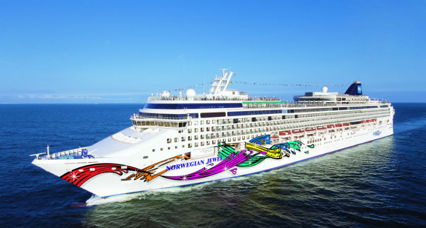 It's the Norwegian Jewel, But Not As You Know It