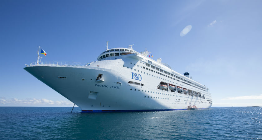 Want to see what the Pacific Jewel looks like after its upcoming drydock? Look no further.