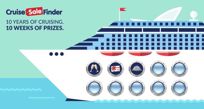 Cruise Sale Finder has been around for ten exciting years