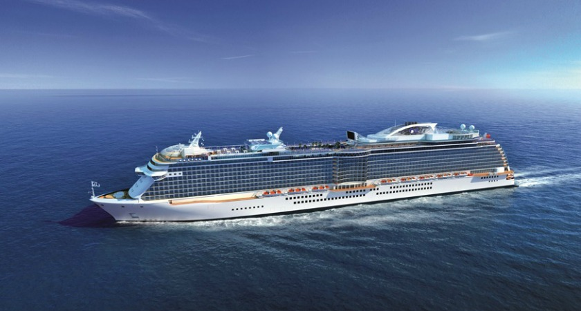 Princess Cruises has ordered two new builds