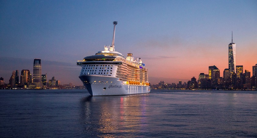 Quantum of the Seas takes New York