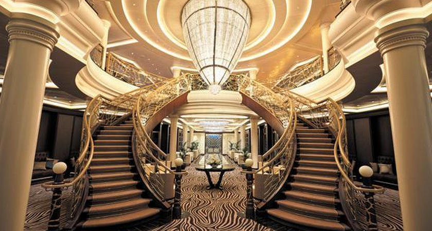 The Most Luxurious Cruise Ship Ever Built Is Arriving