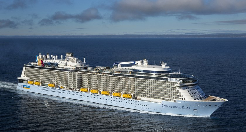 Quantum of the Seas sets sail for Royal Caribbean