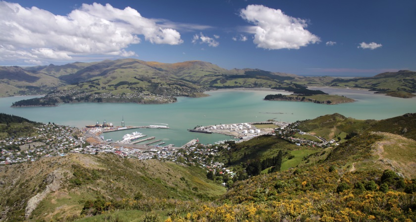 Lyttelton port sees new developments to re-open after earthquake