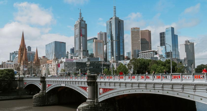 Get onshore and explore Melbourne