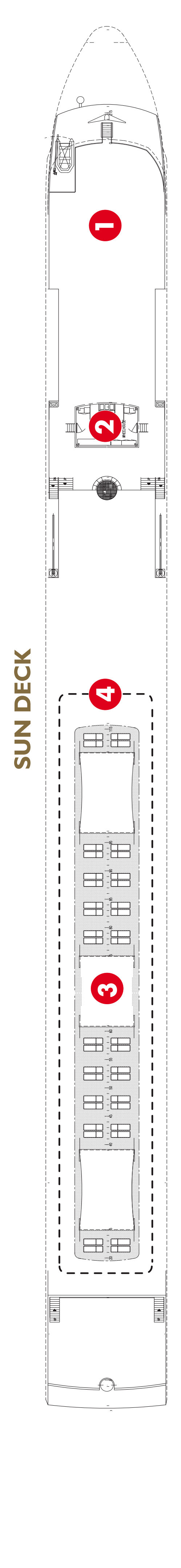 Scenic Ruby Sun Deck layout