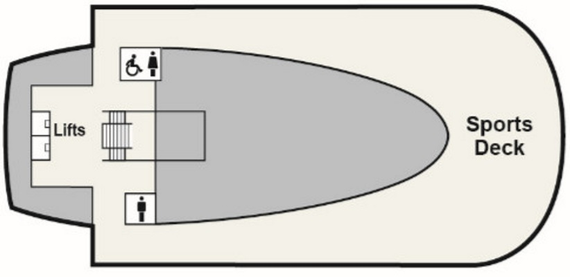 Viking Sea Deck 9 layout