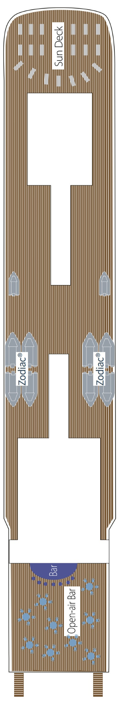 Le Soleal Deck 7 layout