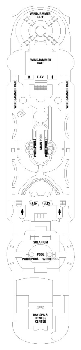 Grandeur Of The Seas Deck 9 layout