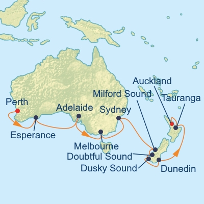 Celebrity Solstice - Australia & New Zealand Cruisers ...