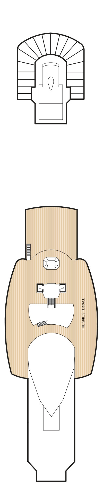 Queen Elizabeth Deck 12 layout
