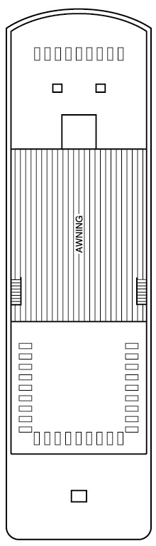 Murray Princess Sun Deck layout