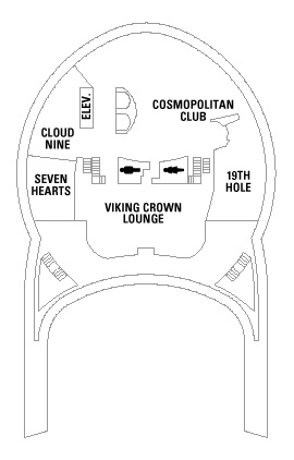 Navigator Of The Seas Deck 14 layout