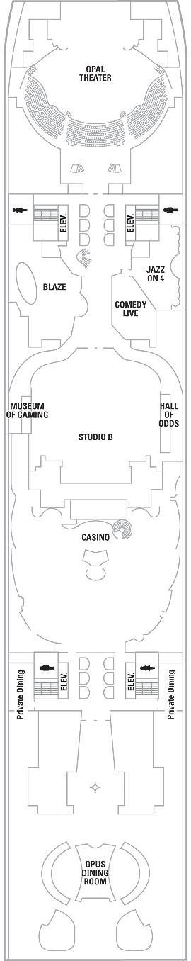 Oasis Of The Seas Deck 4 layout