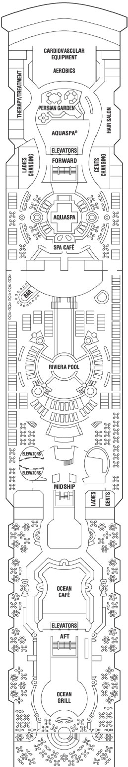Celebrity Millennium Resort Deck layout