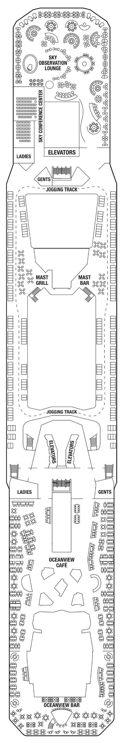 Celebrity Solstice Deck 14 layout