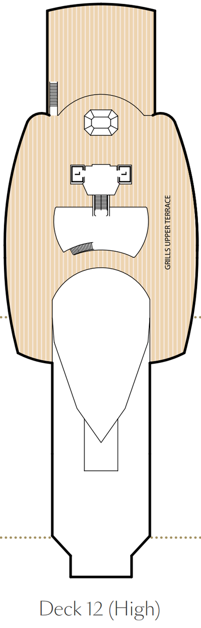 Queen Victoria Deck 12 layout