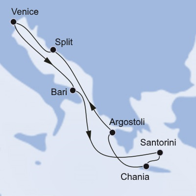 Cruises from Venice - Great deals, Lowest Prices