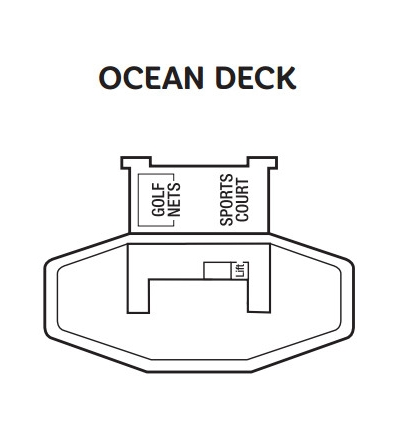 Ventura Ocean Deck layout