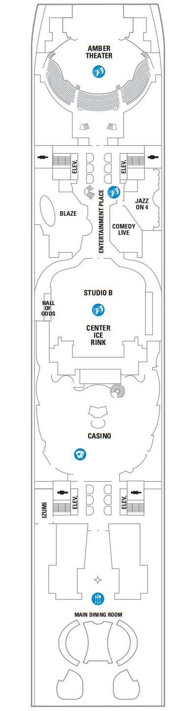 Allure Of The Seas Deck 4 layout