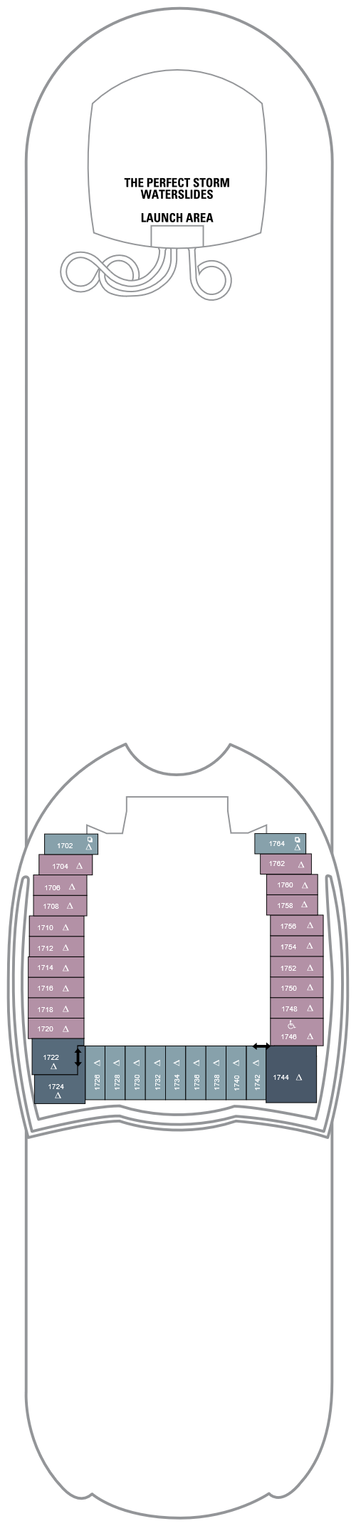 Harmony of the Seas Deck 18 layout