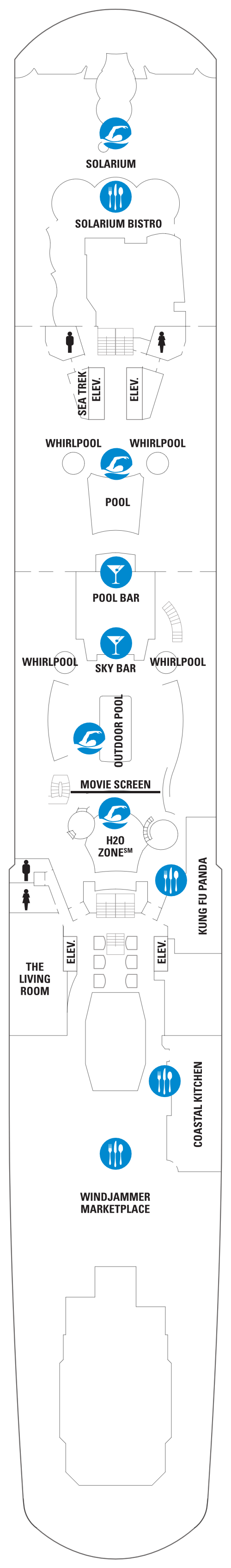 Quantum Of The Seas Deck 14 layout