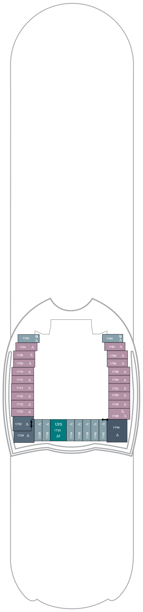 Symphony Of The Seas Deck 18 layout