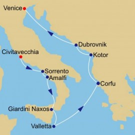 Italy Greece and Adriatic Itinerary