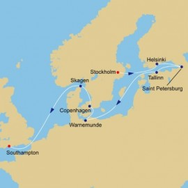 Baltic Sea to London Itinerary