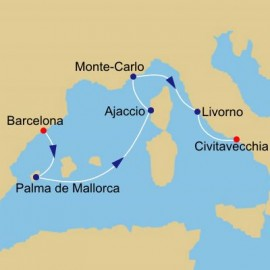 Across The Western Mediterranean Itinerary