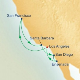 California Coastal Itinerary