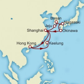 Asia World Sector Itinerary