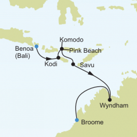 Bali to Broome Itinerary