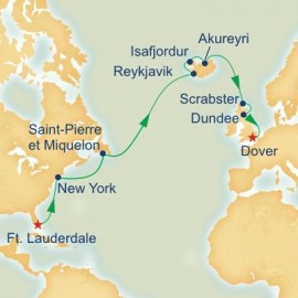 Fire and Ice Explorer Itinerary