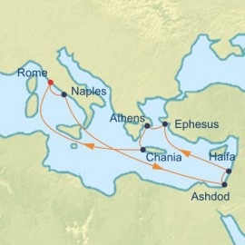 Israel and Mediterranean Itinerary