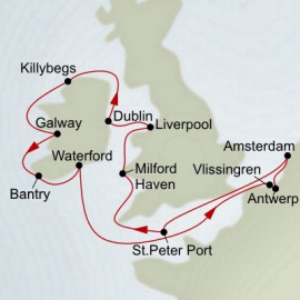 Celtic Explorer Itinerary