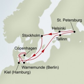Baltic Adventure  Itinerary