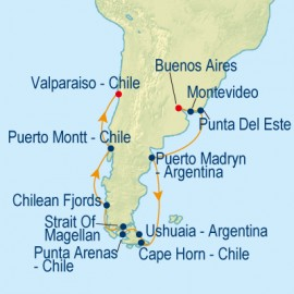 Argentina and Chile Itinerary