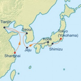 China South Korea and Japan Itinerary