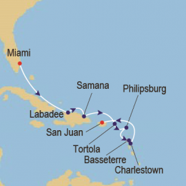 Caribbean Sunsets Itinerary