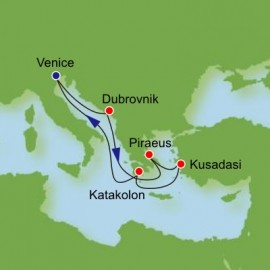 Adriatic and Greece and Turkey Itinerary