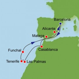 Canary Islands and Morocco Itinerary