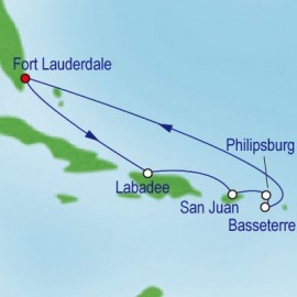 Eastern Caribbean Holiday Cruise Itinerary