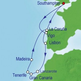 Canaries Adventure Cruise Itinerary