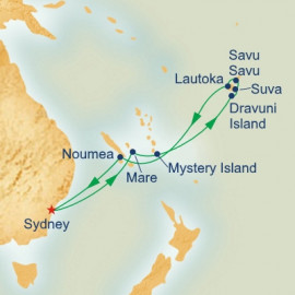 Fiji and South Pacific Itinerary