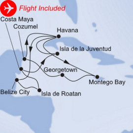 Cuban Discovery Fly Itinerary