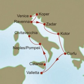 Mediterranean Meandering Itinerary